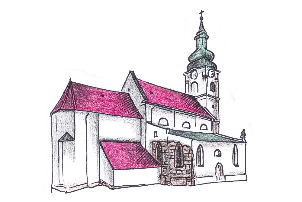 Kostol sv. Kríža, Bratislava-Devin