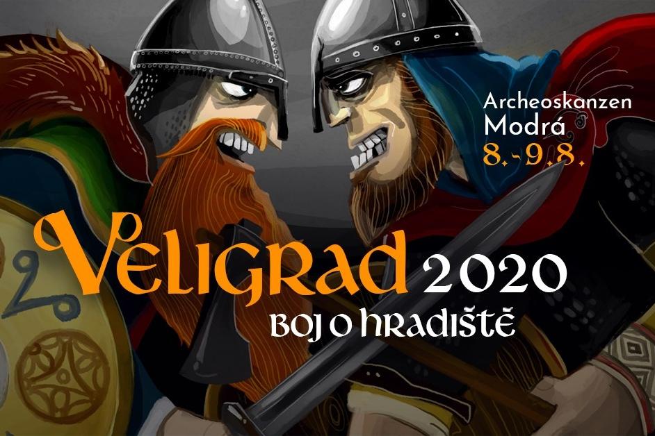 Veligrad, boj o hradiště 2020, Archeoskanzen Modrá