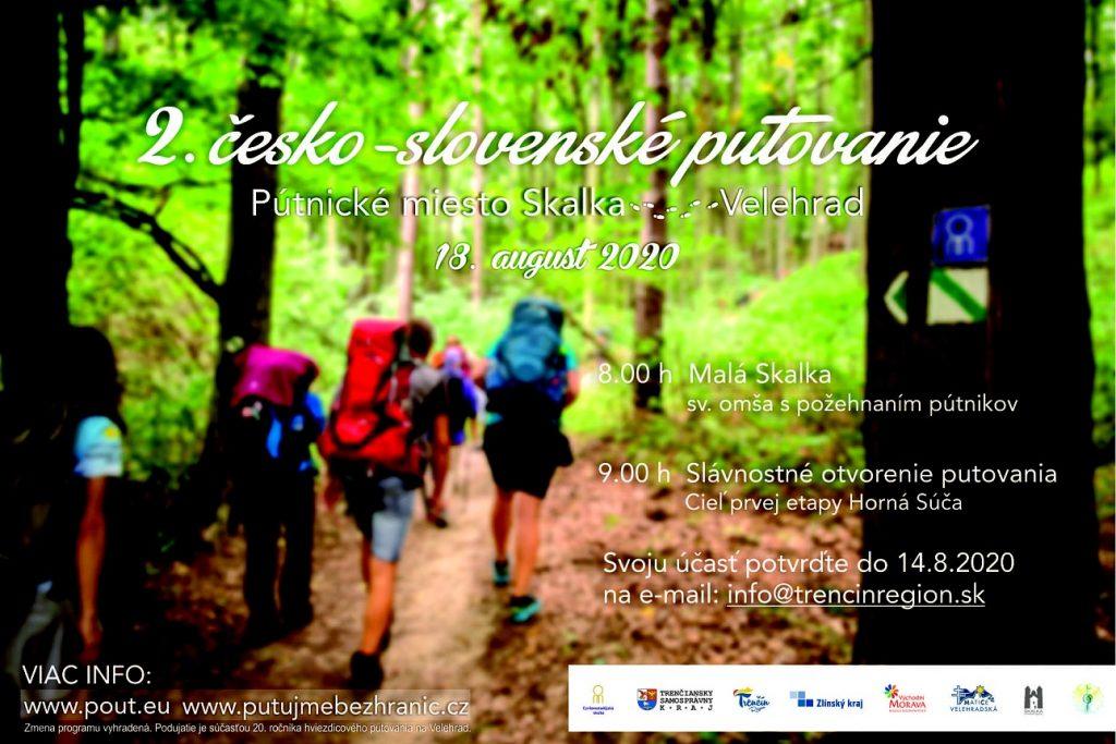 Slavnostní zahájení Letního cyrilometodějského putování Skalka u Trenčína - Velehrad